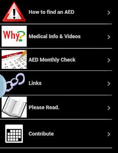 Defibrillator Map screenshot 20