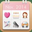 Women's Stamp Calendar/Diary APK