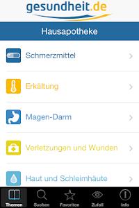 Hausapotheke screenshot 1