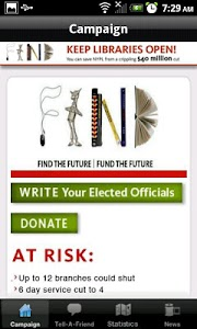 NYPL Fundraiser App screenshot 1