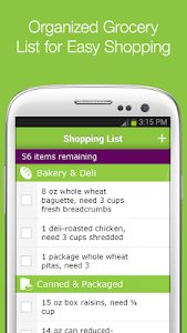 Meal Planning and Grocery List screenshot 1