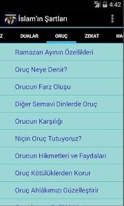 İslam'ın Şartları screenshot 2