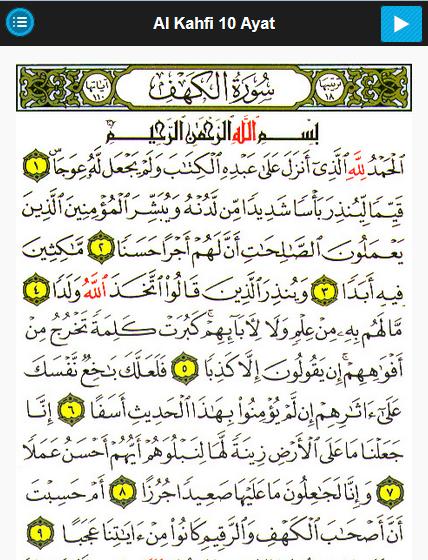 Al Kahfi Berapa Ayat : kahfi, berapa, Keutamaan, Surah, Kahfi, Pendidikan