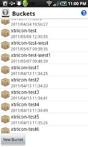 AndroAWS/S3 screenshot 0