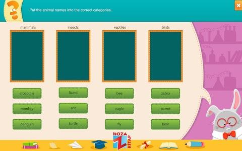 İngilizce 7 KOZA Z-Kitap  Demo screenshot 7