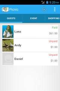 Event Expenses screenshot 6