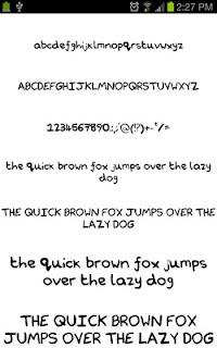 Neat Fonts for FlipFont free screenshot 04