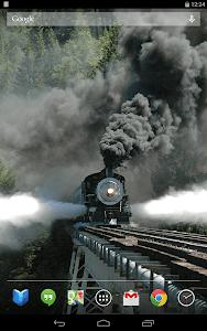 Trains on Bridges Wallpaper screenshot 7