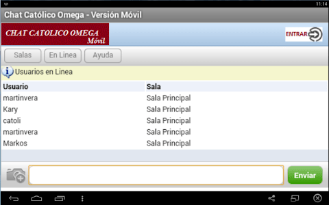 Chat Católico Omega screenshot 7