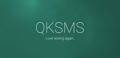 QKSMS - Open Source SMS & MMS Pour PC Capture d'écran
