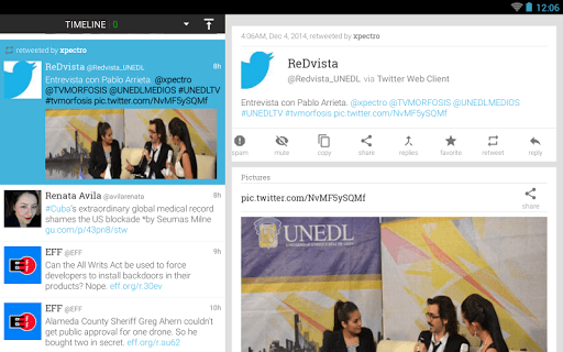 Plume for Twitter screenshot 11