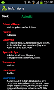 Indian Herbs screenshot 2