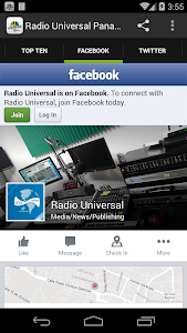RADIO UNIVERSAL PANAMA screenshot 2
