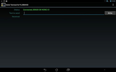 Prolific PL2303 USB-UART screenshot 0