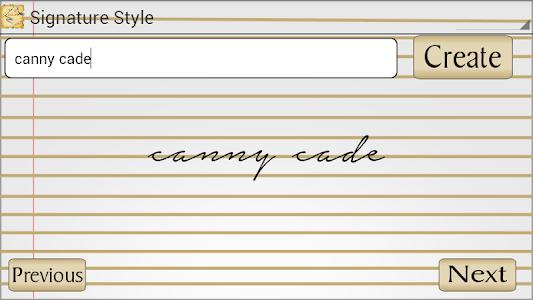 Signature Style screenshot 2