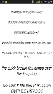 Fonts for FlipFont 50 #3 screenshot 07