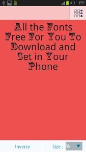Car Fonts Free screenshot 1