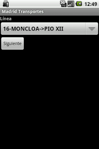 Madrid transportes screenshot 1