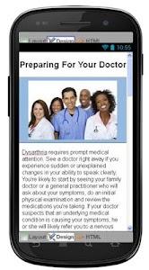 Dysarthria Disease & Symptoms screenshot 5