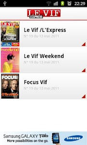Le Vif/L'Express screenshot 1