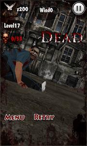 Knife King3-Zombie War 3D screenshot 7