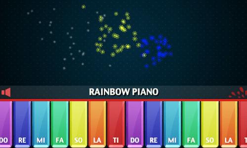 Rainbow Piano screenshot 3
