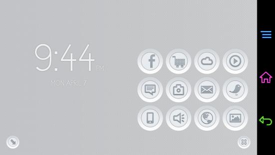 3D Buttons for Smart Launcher APK for Blackberry