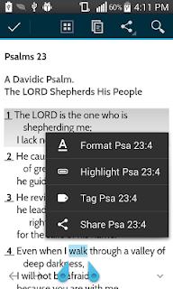 MySword Bible screenshot 07