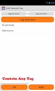SUM Calendar Free screenshot 5