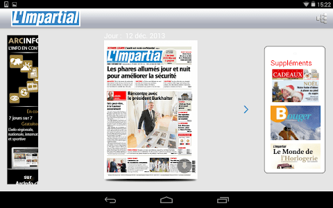 L'Impartial journal screenshot 11