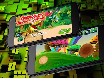 Froggie's Forest Adventure! screenshot 0