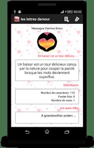 les lettres d'amour romantique screenshot 5