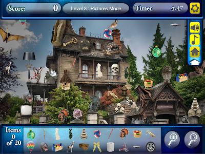 Hidden Objects Haunted Worlds screenshot 6