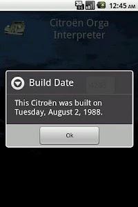 Citroen Orga Interpreter screenshot 1
