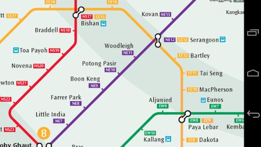 Singapore Metro Map screenshot 0