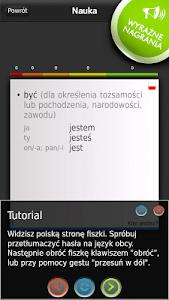 FISZKI Hiszpański Czasown. A screenshot 6