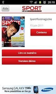 Sport/Footmagazine screenshot 0