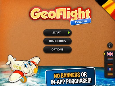 GeoFlight Belgium: Geography screenshot 14