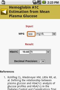 MedCalc 3000 Endocrine screenshot 2