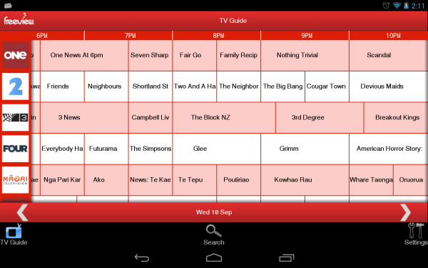 Freeview TV Guide Android Apps on Google Play