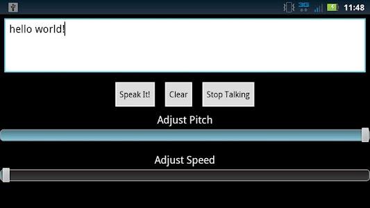 Text To Speech - Text Reader screenshot 1