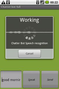 Chatter Bot Full screenshot 1