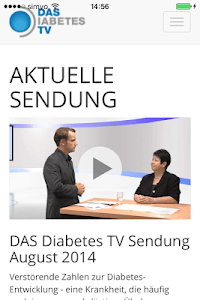 Das Diabetes TV screenshot 1