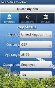 Risk Estimater by I Am Default screenshot 6