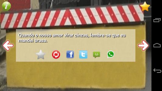 Frases Para-choque de Caminhão screenshot 1