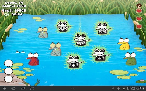Whack The Frog Lite screenshot 2