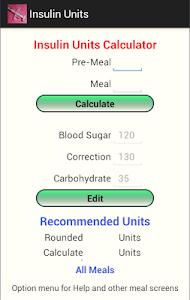 Insulin Units screenshot 0