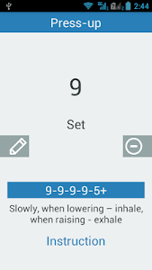 Everifit!: workout at home screenshot 2
