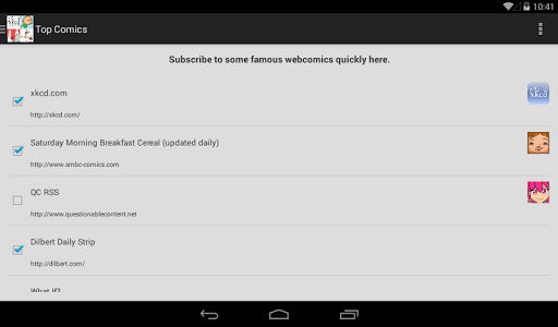 My WebComic Reader screenshot 11
