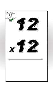 Multiplication Flash Cards screenshot 7